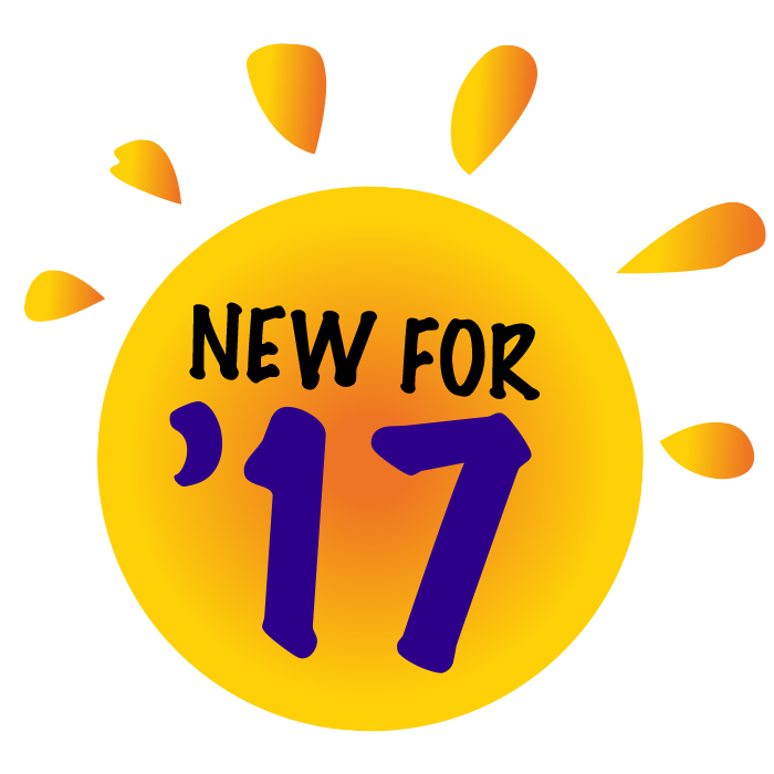 New for 2017!